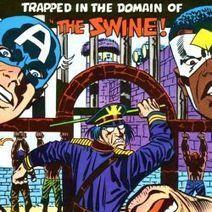 "Saluting Captain America: The Swine | Jack ""King"" Kirby | Scoop.it"