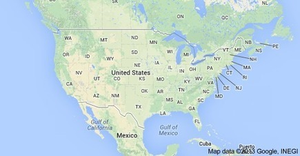 United States of America Map | free business listing | Scoop.it
