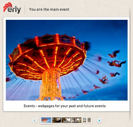 Erly - a social platform for organizing & sharing content | A New Society, a new education! | Scoop.it