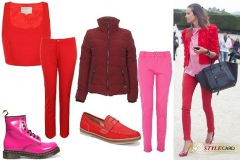 Trends: Red and Pink | StyleCard Fashion Portal | StyleCard Fashion | Scoop.it