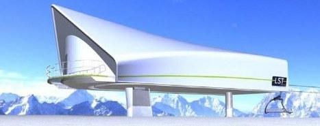 MND installe son nouveau télésiège à La Plagne | transports par cable - tram aérien | Scoop.it