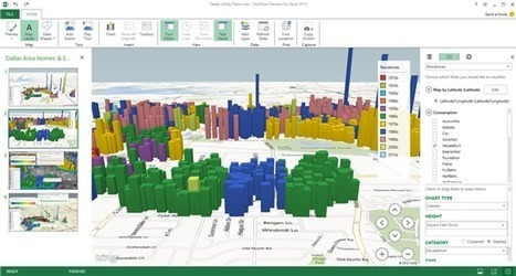 """Visualizing Information: """"GeoFlow"""" for Excel delivers 3D data visualization and storytelling - Microsoft Power and Utilities Blog - Site Home - MSDN Blogs   Knowledge Visualization & E-learning   Scoop.it"""