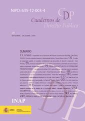 Cuadernos de Derecho Público | Instituciones de Derecho Público | Scoop.it