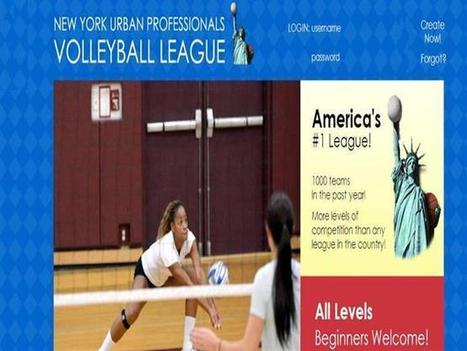 Volleyball Leagues NYC | New York Urban Professionals | Scoop.it