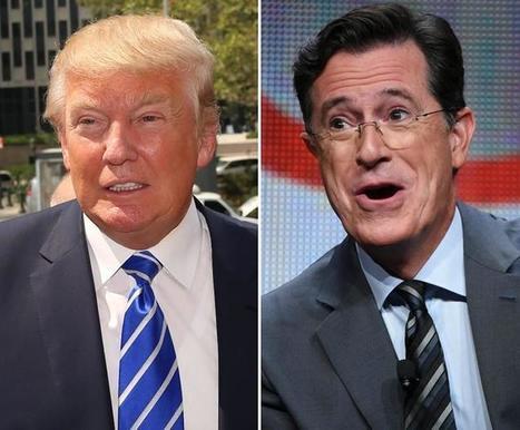 Colbert likens Trump to a Nazi following bizarre Orlando response   SocialPsy.   Scoop.it