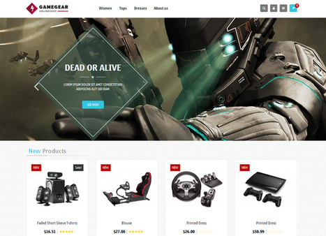 20 Free Themes & Templates for Creating eCommerce Stores | interNET | Scoop.it