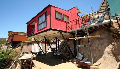 39 maison sur pilotis 39 in construire tendance. Black Bedroom Furniture Sets. Home Design Ideas