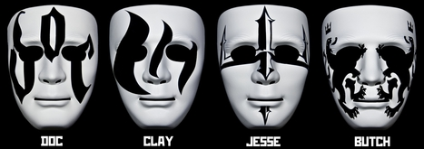 Revolver California - Four superheroes with masks set out to conquer the world of fashion and music! | Revolver California - Four superheroes with masks set out to conquer the world of fashion and music! | Scoop.it