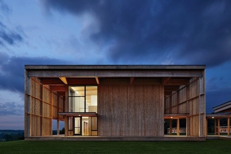 Sustainability, Simplicity and Natural Materials at New York's Won Dharma Center | sustainable architecture | Scoop.it