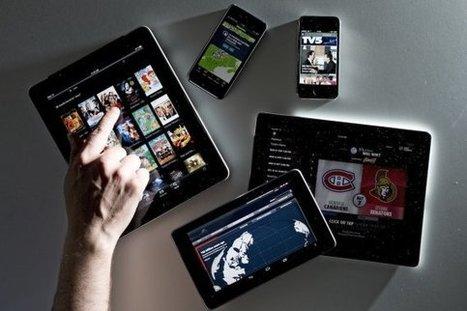 La lecture des journaux sur support numérique gagne du terrain | Les médias face à leur destin | Scoop.it