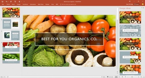 The evolution of PowerPoint—introducing Designer and Morph - Office Blogs | video | Scoop.it