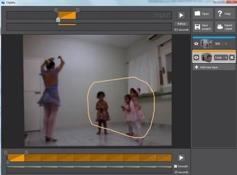 Clippets – Para editar vídeos dejando solo una parte en movimiento   Recull diari   Scoop.it