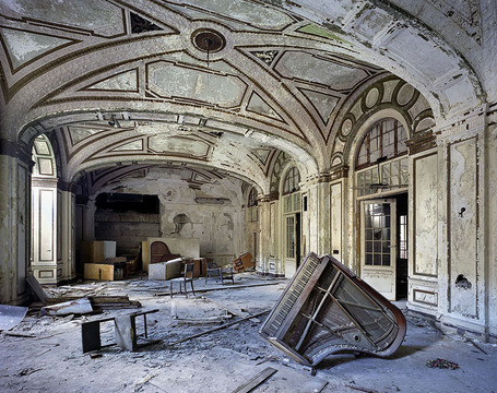 Yves Marchand & Romain Meffre Photography - The Ruins of Detroit | Art, Design & Technology | Scoop.it