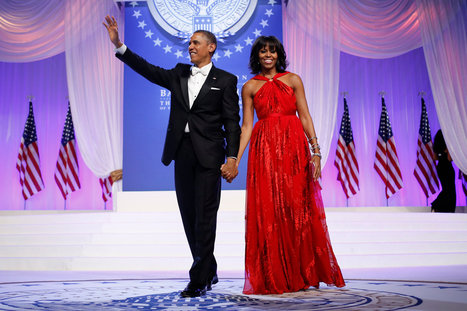 Mrs. Obama Again Chooses Inaugural Gown by Jason Wu | News and everything | Scoop.it
