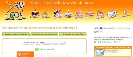 YannCook: moteur de recherche de recettes de cuisine anti gaspillage | Personal Branding and Professional networks - @Socialfave @TheMisterFavor @TOOLS_BOX_DEV @TOOLS_BOX_EUR @P_TREBAUL @DNAMktg @DNADatas @BRETAGNE_CHARME @TOOLS_BOX_IND @TOOLS_BOX_ITA @TOOLS_BOX_UK @TOOLS_BOX_ESP @TOOLS_BOX_GER @TOOLS_BOX_DEV @TOOLS_BOX_BRA | Scoop.it