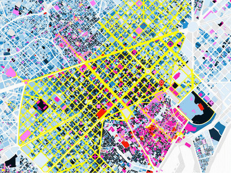 Beautiful Interactive Map of Barcelona Digs Into Rich Architectural History | visual data | Scoop.it