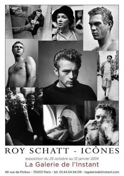 "#Vernissage de l'exposition Roy Schatt ""Icônes"" jeudi 24 octobre 19h. | Exposition photos | Scoop.it"