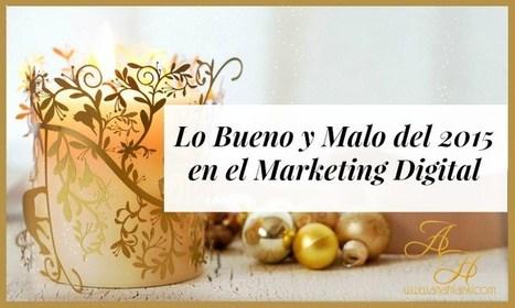 Lo Bueno y Malo del 2015 en el Marketing Digital - @AnabellHilarski | Redes Sociales | Scoop.it