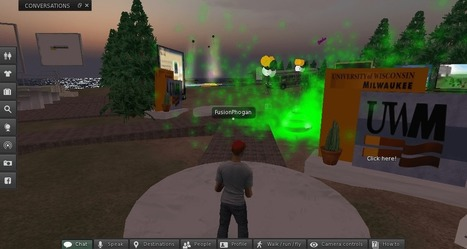 We took a tour of the abandoned college campuses of Second Life | Digital Delights - Avatars, Virtual Worlds, Gamification | Scoop.it
