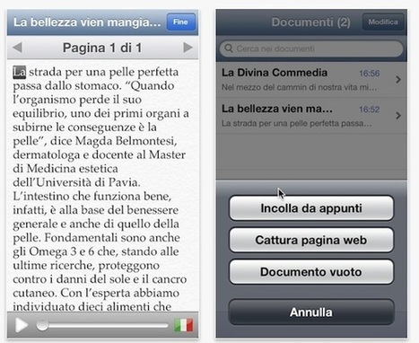 Evolvo, l'app iPhone che legge per voi   Teaching and Learning English through Technology   Scoop.it