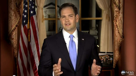 Marco Rubio's Water Break. | Pauls Content Curation | Scoop.it