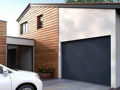 C - Easydoor, une nouvelle gamme de portes de garage enroulables prêtes à poser, signée Franciaflex. | Bâtiment | Scoop.it