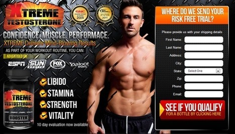 Xtreme Testosterone Booster | New Muscle Building Formula | Scoop.it