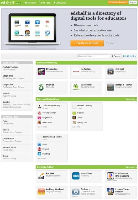 edshelf: directory of educational technology | TELT | Scoop.it