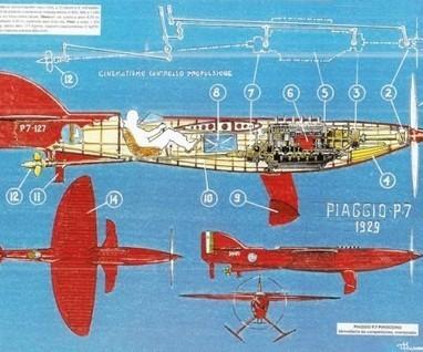 Piaggio PC7 Pinocchio   Nautica-epoca   Scoop.it