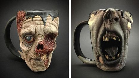 Gruesome Zombie Head Coffee Mugs | Coffee News | Scoop.it