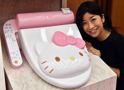 Abattant pour WC Hello Kitty - Geek | News geek | Scoop.it