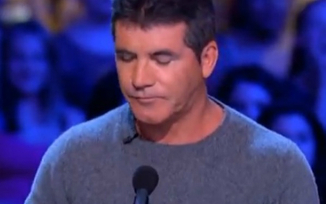 Watch Simon Cowell Choke Up on The X-Factor [VIDEO]   Life @ Work   Scoop.it