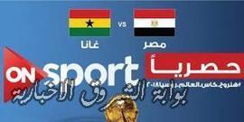 بث مباشر مباراة مصر وغانا | AHMEDSAAD | Scoop.it