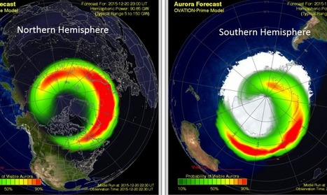 G1 (Minor) Geomagnetic Storms Continue 22 décembre | Hurtigruten Arctique Antarctique | Scoop.it
