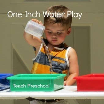 One-inch water play   Play-based Learning   Scoop.it