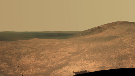 Rover Opportunity Wrapping up Study of Martian Valley | New Space | Scoop.it