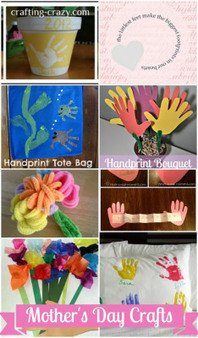 Easy Mother's Day Crafts for Kids and Toddlers - Terrell Family Fun | Projects for kids | Scoop.it