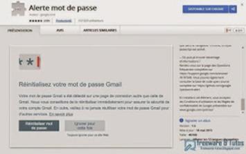 Alerte mot de passe : une extension Google Chrome pour vous protéger des attaques de phishing | TIC et TICE mais... en français | Scoop.it