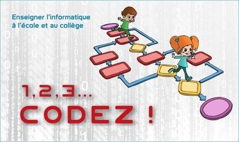 1,2,3... codez ! | Le site de la Fondation La main à la pâte | Monday Morning Tech News_LS @ French American | Scoop.it