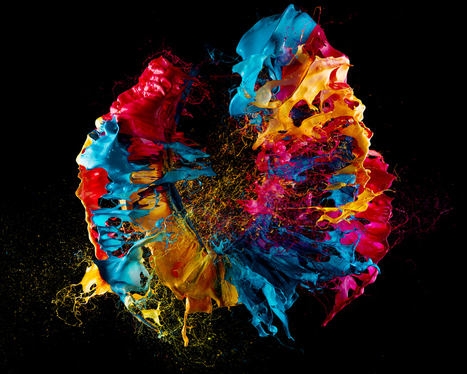 Pop art: gorgeous blooms of paint, made with exploding balloons | D_sign | Scoop.it