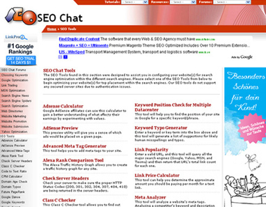 21 Websites That Offer Online SEO Tools and SEO Applications - blueblots.com | Search Engine Optimization | Scoop.it