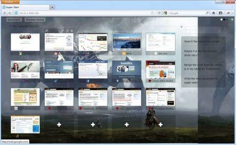 Super Start – página de inicio personalizable para Firefox | EDUDIARI 2.0 DE jluisbloc | Scoop.it