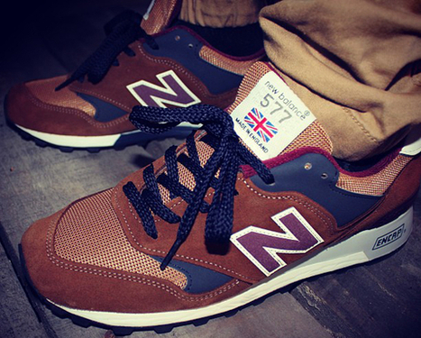 New Balance 577 Marron « made in england » – chaussure | sneakers-actus.fr | Scoop.it