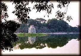 Ho Hoan Kiem (Ho Guom) - Lake of the Returned Sword - Indochina Travel Yacht | indochina travel | Scoop.it