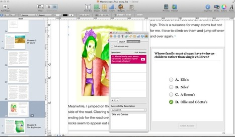 How-to: Make accessible iBooks with iBooks Author | offene ebooks & freie Lernmaterialien (epub, ibooks, ibooksauthor) | Scoop.it