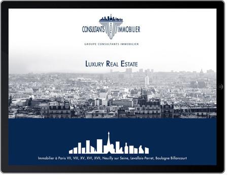 Application iPhone iPad Consultants Immobilier – Vente de biens immobiliers haut de gamme | Immobilier | Scoop.it