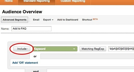 Using Google Analytics to Power an Effective Q&A Strategy | Online Marketing Resources | Scoop.it
