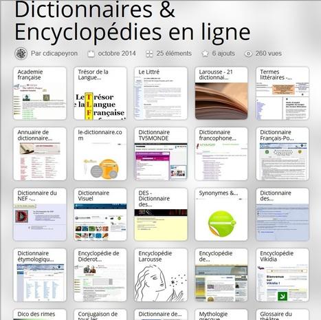 Une mine : une compilation des dictionnaires et encyclopédies ! | orthographe et grammaire : un programme innovant | Scoop.it