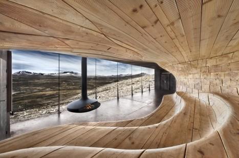Un pavillon d'observation du paysage à couper le souffle | Architecture pour tous | Scoop.it