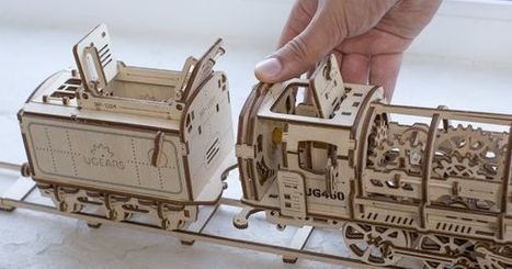 Ugears Are The Wooden Alternative To Legos. And They're Awesome. | Middle School Computer Science | Scoop.it